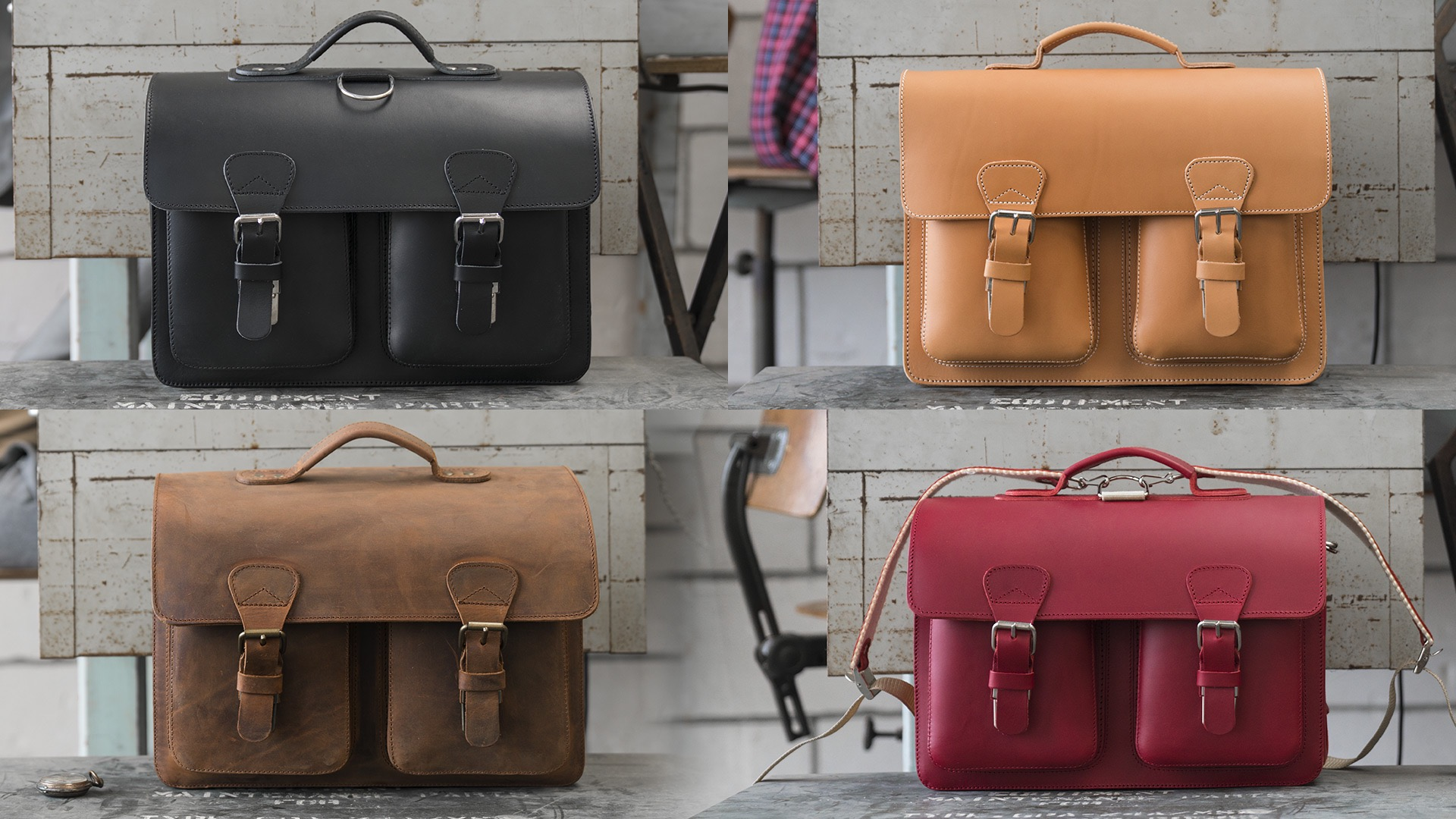 Choosing the right Ruitertassen leather satchel briefcase.