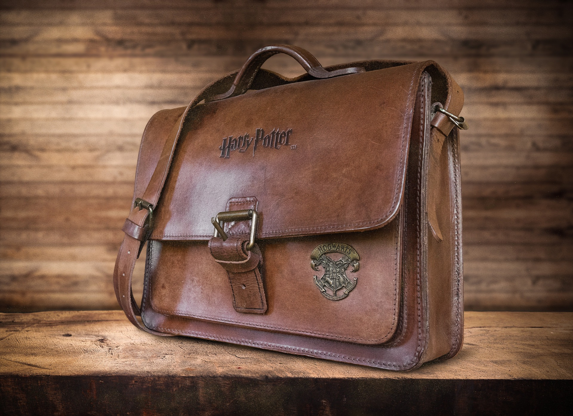 Small Harry Potter satchel made by Ruitertassen.